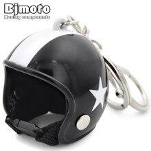 BJMOTO мини наклейки для мотоциклетного шлема брелок DIY маленький tintin hat брелок Рыцарь Шлем Мотоцикл capcar брелок