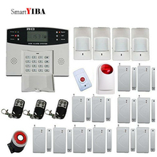 SmartYIBA Home Security Wireless GSM Security Alarm System Outdoor Wireless Siren Manual Spanish Russian French Italian Voice