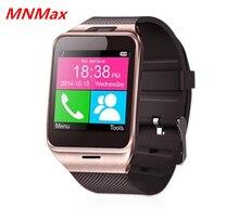 Freies Verschiffen GV18 Smart Uhr Bluetooth SmartWatch 1.3MP Cam Sync Anruf SMS für Samsung XiaoMi HTC Android
