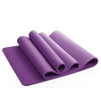 5310e7f32 8MM TPE Non Slip Yoga Mats For Fitness Tasteless Brand Pilates Mat 8Color  Gym Exercise Sport