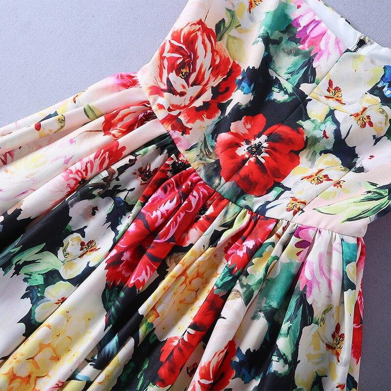 Qualité Mode Style De Robe Marque 2019 Partie Printemps Luxe Européenne Nouvelles Femmes Haute Design Ws12498 dwqxZItnaa