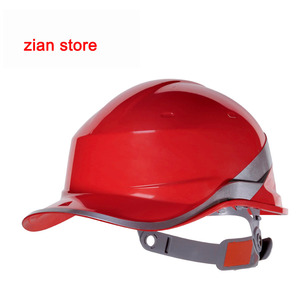 Image 3 - Free print logo Safety Helmet Hard Hat Work Cap ABS Insulation Material With Phosphor Stripe Construction Protect Helmets