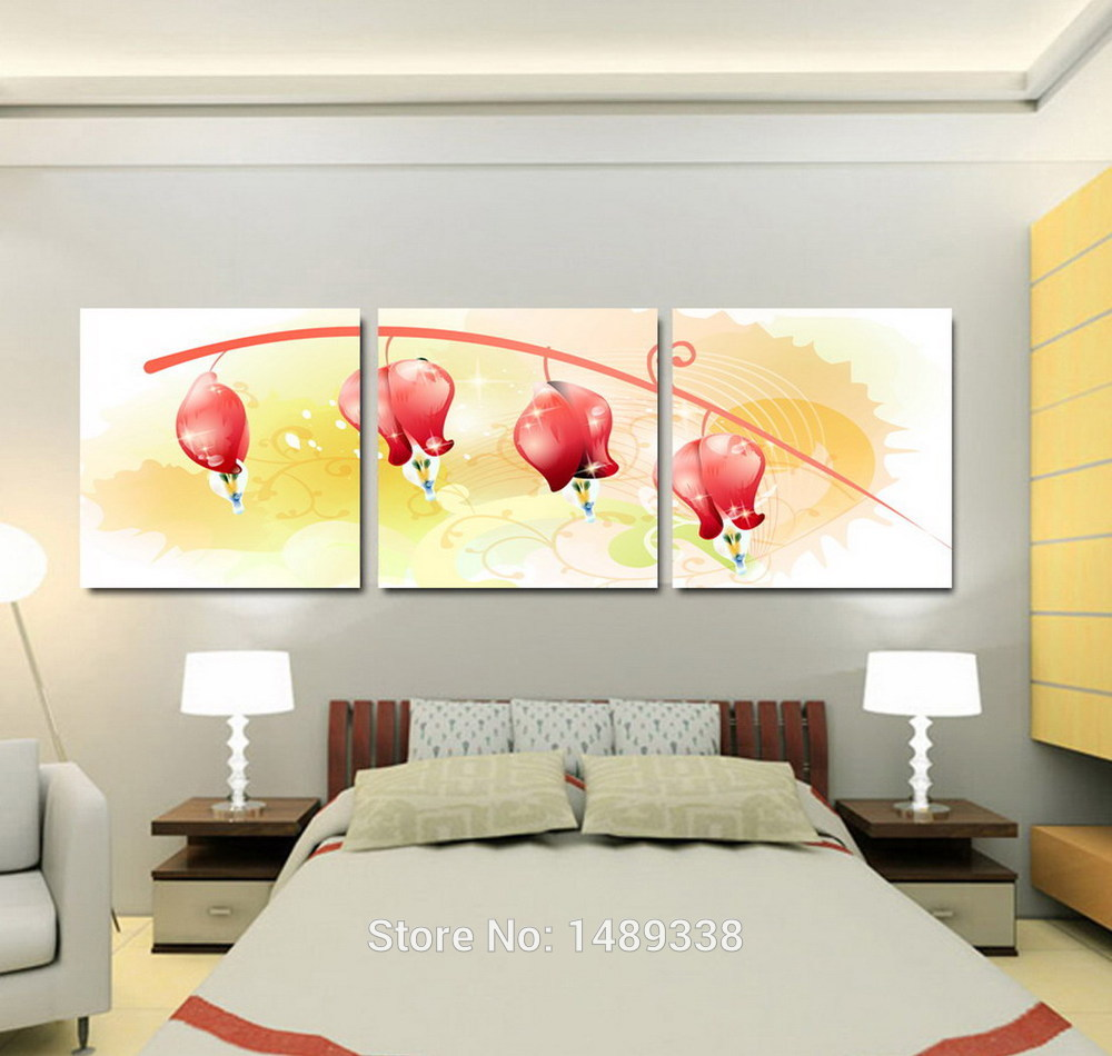 Wall Painting In Living Room Online Buy Wholesale Orange Wall Paintings From China Orange Wall