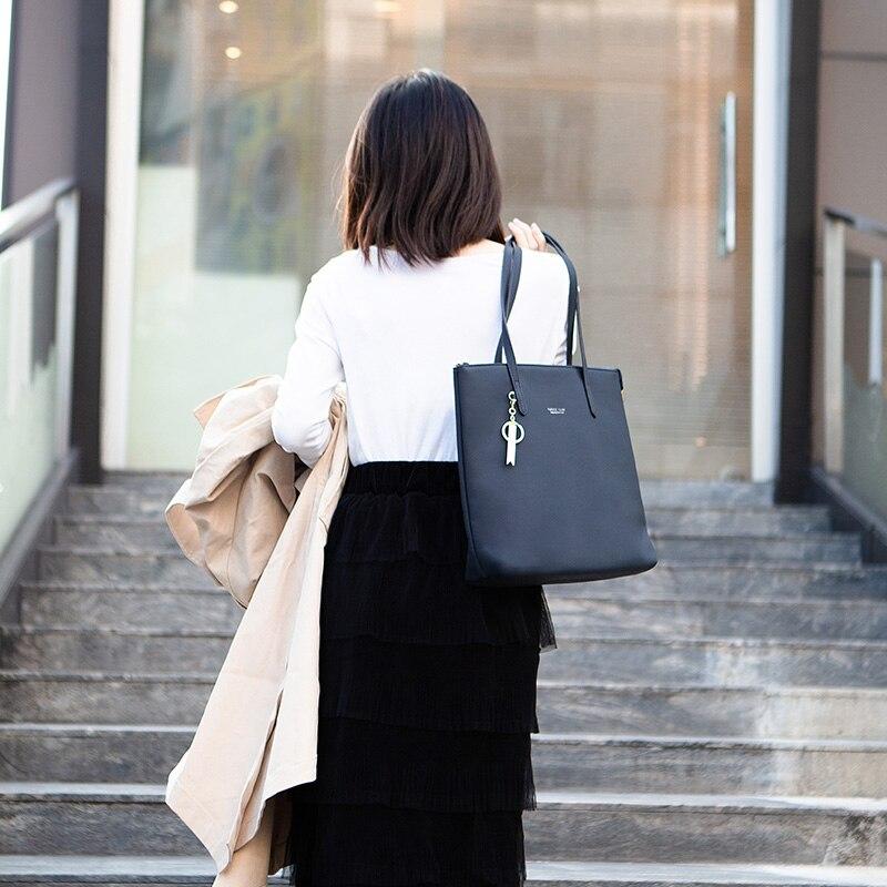 Image 3 - WEICHEN Large Capacity Women Handbag Ladies Top Handle Totes  Shoulder Bag Female Casual Tote Shopping Sac Big Travelling  BagTop-Handle Bags