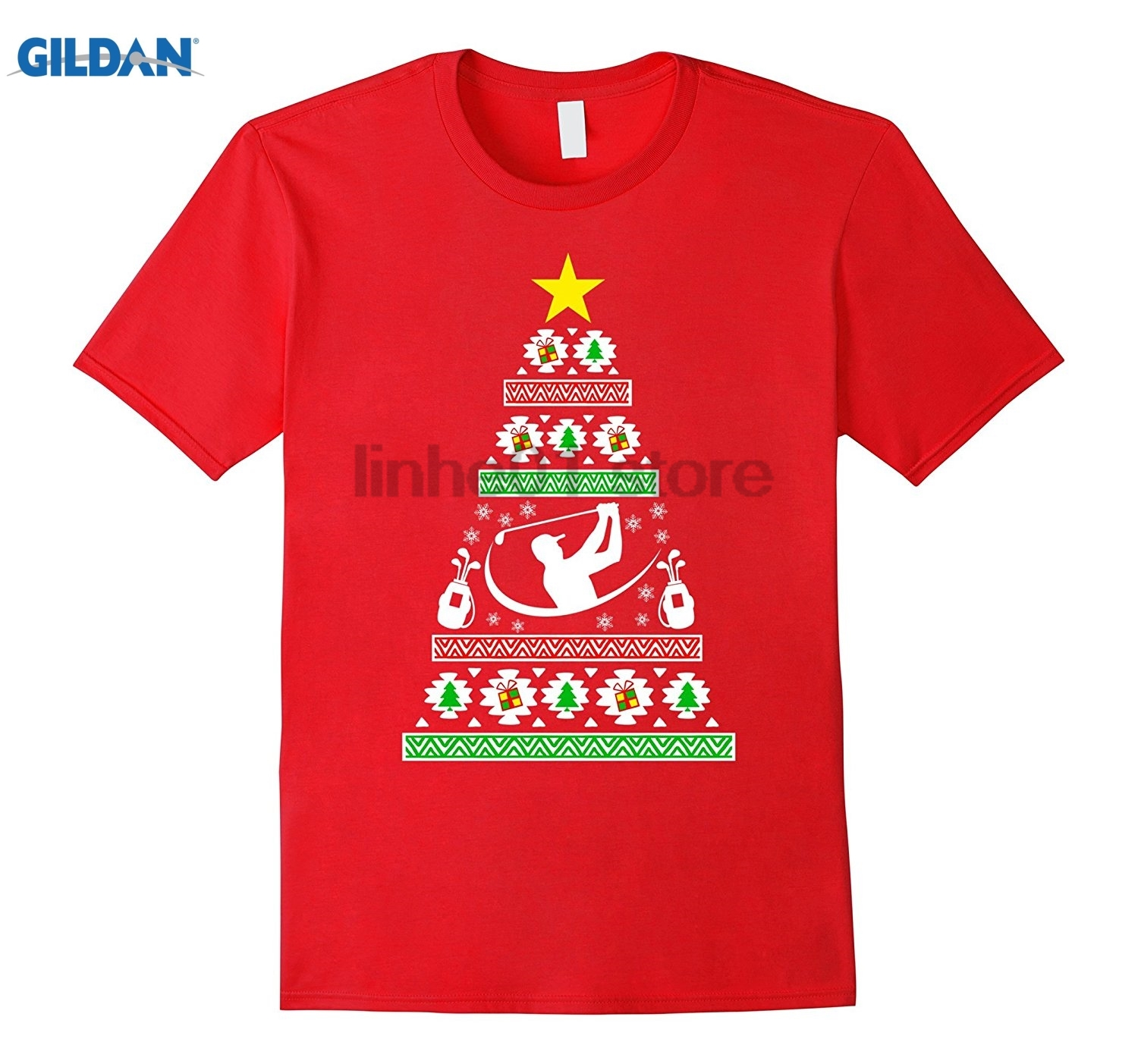 GILDAN accessories gifts idea ugly christmas sweater look glasses Womens T-shirt Mothers Day Ms. T-shirt