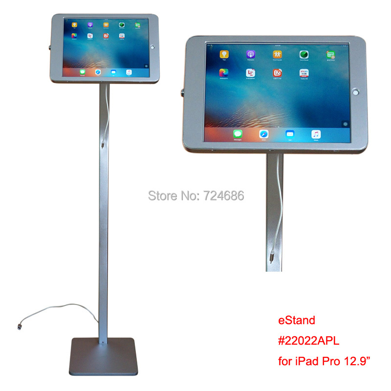 For Ipad Pro 12 9 Quot Floor Display Kiosk Stand Attached
