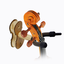 kolos Solid Wood Violin Wall Hanger Hook Violin Accessories