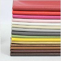 Nice PU Leather Faux Leather Fabric For Sewing PU Artificial Leather For DIY Bag Material One