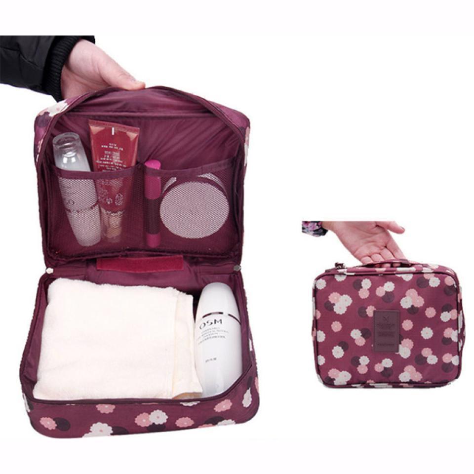 Для женщин Водонепроницаемый путешествия организации косметических хранения мыть мешки Сумочка чехол аксессуары поставок составляют про...