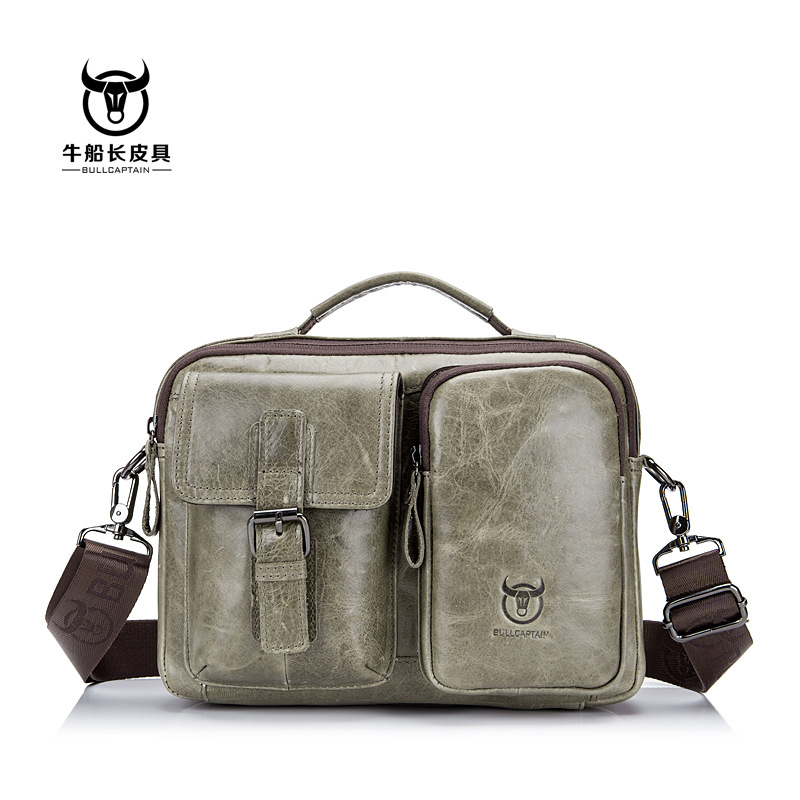 Vintage 100% Genuine Leather Bag Casual Shoulder Crossbody Bag Perfect Quality Oil Wax Cow Leather Men Messenger Bags 2018 New vintage simple style genuine leather messenger bag men s hand made shoulder bag casual
