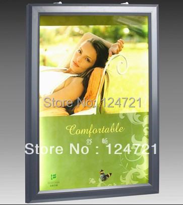 Ultra Slim Thin Backlit Poster Frame LED Advertisng Light Boxes/Wall Mounted Aluminium Display a3 led купить