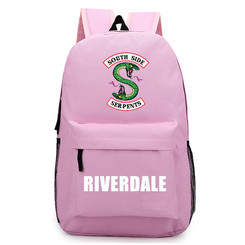 Riverdale Women Backpack Solid Schoolbag Backpack Male Solid Schoolbag Laptop Men 2018 #6