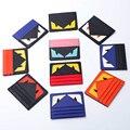 2016 Real Capa de Passaporte O Pequeno Monstro Saco De Cartão de Senhoras couro Fino Coreano Mini Banco de Cartões De Crédito Para Os Alunos dos homens titular