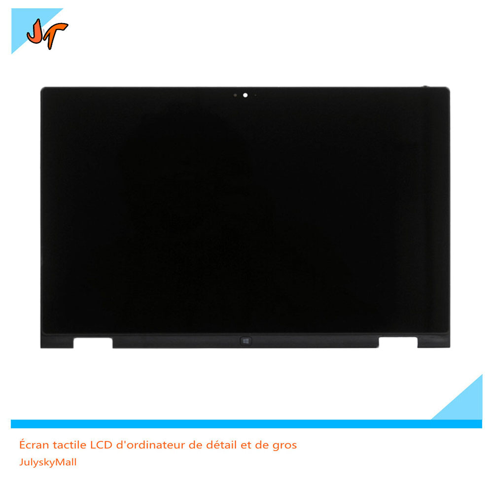 LP133WH2 SPB1 13.3-inch LCD touch screen for Dell Inspiron 13 7000 Series 7347 7348 (1366X768) touch digitizer component + frame 13 3 lcd screen for lg lp133wh2 spb1 lp133wh2 sp b1 laptop spb1 13 7347 touch assembly