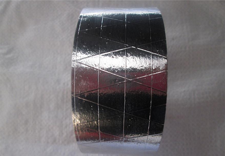 25meters Width 5cm Non-slip Aluminum Foil Adhesive Tape, Anticorrosive,fireproof, Waterproof.conductive Material