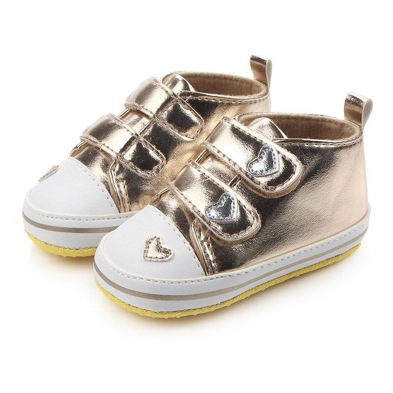 New High Quality Soft Infant Newborn Baby Boy Girl Kid Soft Sole Shoes Sneaker Newborn 0-12Months