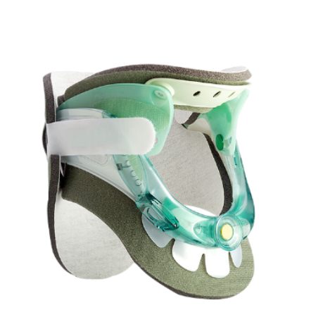 Delux Universal Cervical Collar Brace Cervical Traction Therapy Device for Neck Pain