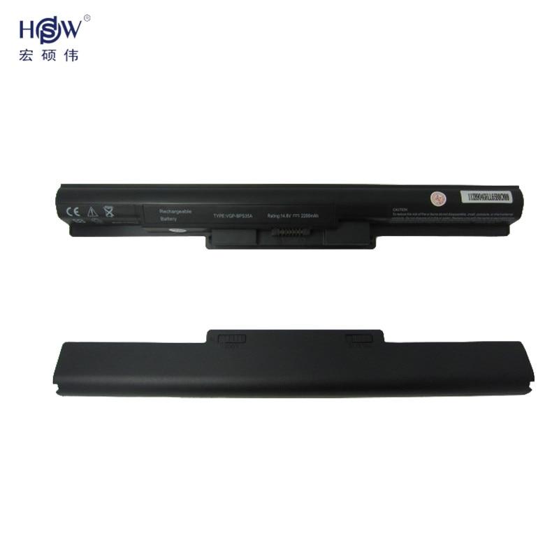 HSW laptop battery for SONY  Vaio 14E 15E  SVF1521A2E SVF15217SC SVF14215SC SVF15218SC SVF15216SC  VGP-BPS35A bateria akku купить sony vaio vgc la2r самая низкая цена