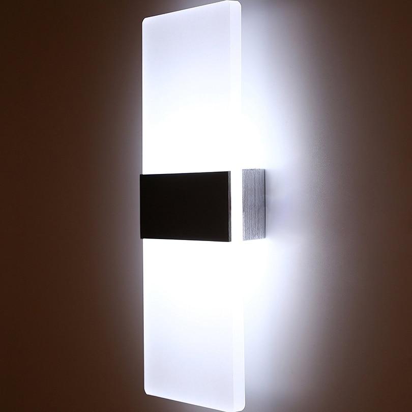 Lâmpadas de Parede lâmpada de parede arandela ac85-265v Tensão : 90-260v
