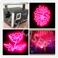 1500mW rosa animação de luz laser com Cartão SD|animation laser light|laser lightanimation laser -