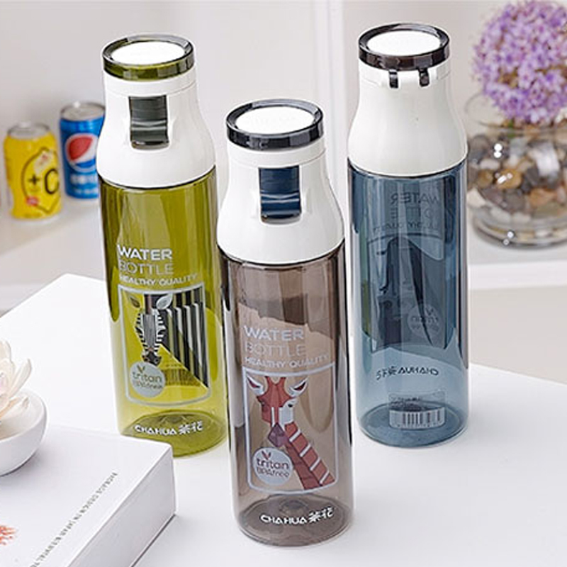 480ML 600ML Bullet cover Drinking water Office Car Water Portable with Filter students Bicycle carrying sports water bottle