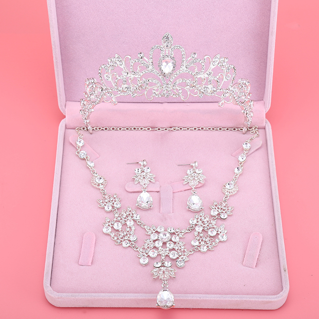Um Nobre de Casamento Da Noiva Acessórios De Noiva coroa Tiara Coroa Atacado Loja Online para noiva 001