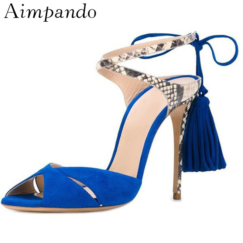 Ankle Wrap Summer Chic Gladiator Sandals Women Thin High Heels Cross Band Open Toe Fringed Tassels Sandalias Chaussure FemmeAnkle Wrap Summer Chic Gladiator Sandals Women Thin High Heels Cross Band Open Toe Fringed Tassels Sandalias Chaussure Femme