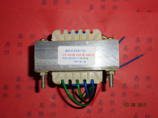 15V-0-15V  30V  Transformer  0-220V- 380V input  70VA EI86*30  Electric welder control transformer Applicable to HS-2717-315V-0-15V  30V  Transformer  0-220V- 380V input  70VA EI86*30  Electric welder control transformer Applicable to HS-2717-3