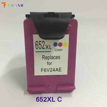 1PK Color ink For HP 652 XL Ink Cartridges DeskJet advantage 1115 2135 3635 1118 2138 3636 3638 printer