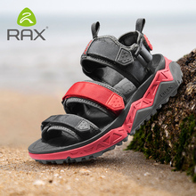 RAX Mens Sports Sandals Summer Outdoor Beach Men Aqua Trekking Water shoes Upstream Shoes Women Quick-drying