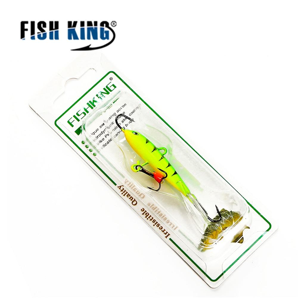 FISH KING 1PC16G/7 5CM Winter Fishing Lure Ice Fishing Jig