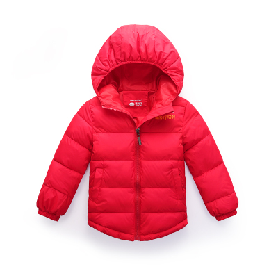 2016 Children's clothing Boys and Girls cotton coat children cotton-padded jacket outwear Kids thickening child winter coat han edition printing cotton padded jacket is beautiful and comfortable small cotton padded jacket of cultivate one s morality