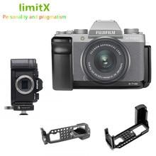 שחרור מהיר L צלחת מחזיק יד גריפ חצובה סוגר עבור Fujifilm Fuji X T100 XT100 מצלמה לbenro Arca שוויצרי חצובה ראש