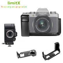 Quick Release L Platte Halter Hand Grip Stativ Halterung für Fujifilm Fuji X T100 XT100 Kamera für Benro Arca Swiss Stativ kopf