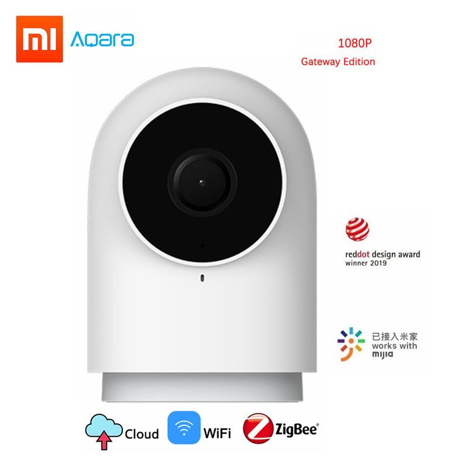 Xiaomi aqara câmera inteligente g2 1080 p gateway edição zigbee ligação inteligente wi fi sem fio nuvem de segurança em casa 2019