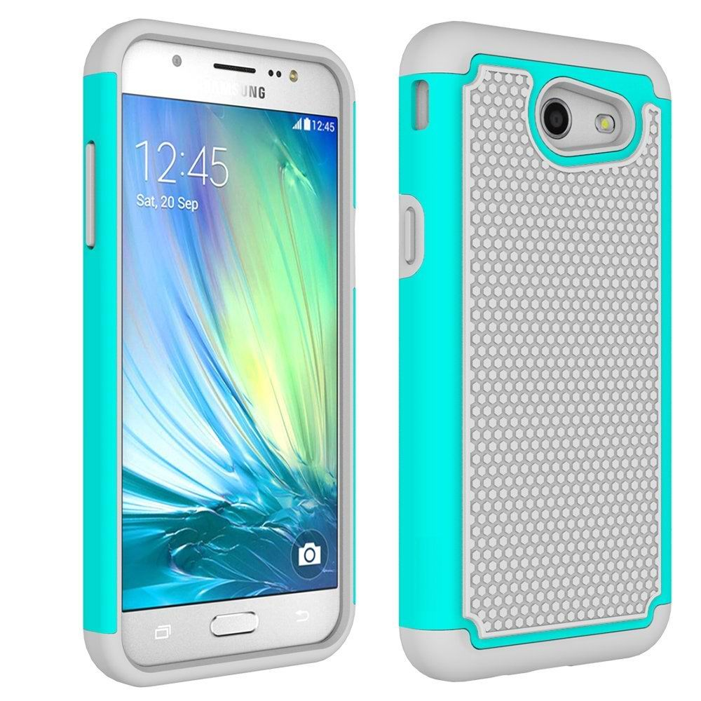 560c6bc67e2 Heavy Duty Hybrid Hard Cover Case For Samsung Galaxy J3 Emerge / J3 Eclipse  / J3 Prime / Express Prime 2 / Amp Prime 2 2017 Case-in Fitted Cases from  ...