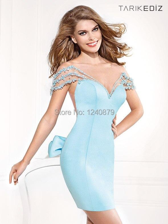 Aliexpress.com : Buy Fashionable Hot Sexy Elegant Light Blue Mini ...
