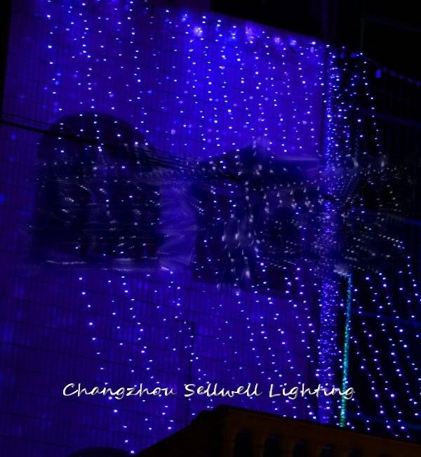 Great!led Festival Light Yard Decoration 5*4m Blue Lamp H121