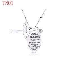 Joyería de moda collar nuevo llega Collar para pareja TN01