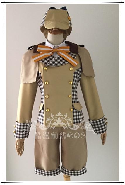 Ensemble Stars Nazuna Nito Hajime Shino Tomoya Detective Cosplay Costume K006
