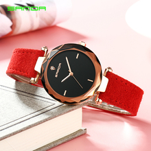 SANDA Fashion Simple Stly Women Watches