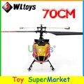 Mais novos WLtoys V913 Helicóptero Grande Do RC Brinquedos de Controle Remoto 4CH 2.4 GHz rádio RTF Única Lâmina de 70 cm Grande 2014 novo Como MJX T40 F45