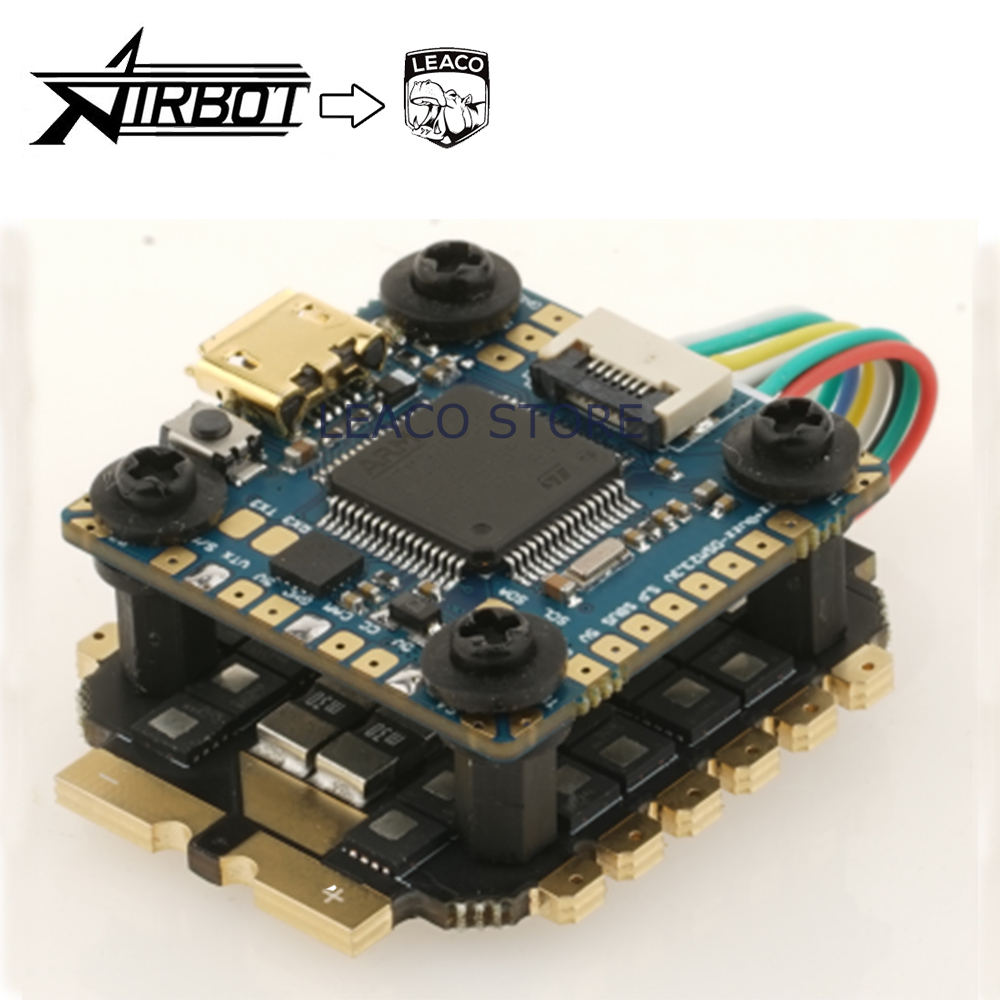 AIRBOT-OMNIBUS F4 NANO V7 flight controlller+FURLING 32 4IN1 MINI ESC 2020 tower set for quadcopter drone leaco image