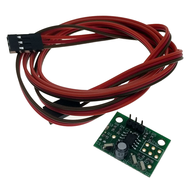 Mini differential IR height sensor for BLV 3d printer, compatiable with Duet Wifi v1.03 board, with cables. image