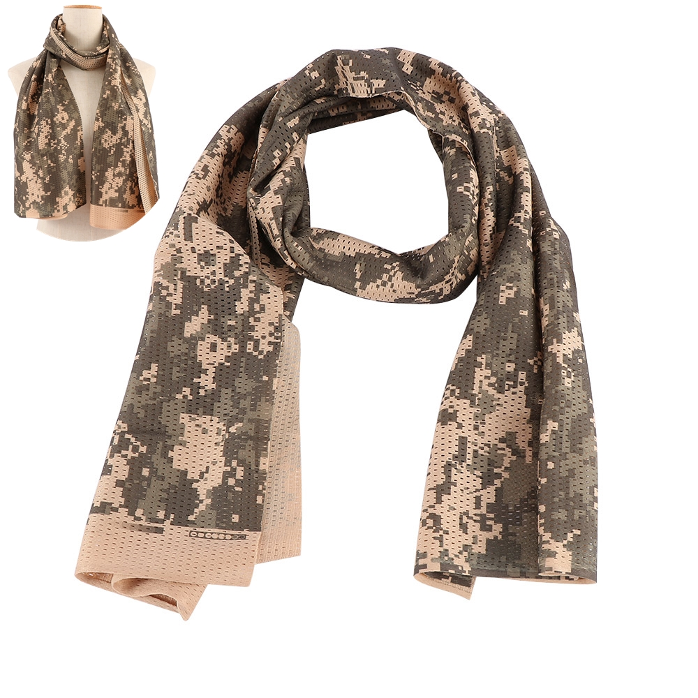 Lightweight Soft Camouflage Military Scarf Breathable Wrap Collar Jungle Tactical Outdoor Army Unisex Gifts Size: 150 x 54cm(China)