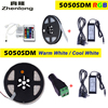 5050 LED Strip RGB Warm Cool White 5M 300 LED IP67 Waterproof With Casing Tube Led