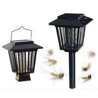 นักฆ่ายุงพลังงานแสงอาทิตย์ยุงRepellerไล่แมลงศัตรูพืชแมลงZapperนักฆ่าป้องกันยุงไฟสวนเส้นทางโคมไ
