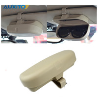 AUXITO Car Glasses Case Box Sunglasses Holder For BMW VW Ford Lada Toyota Honda Audi Hyundai
