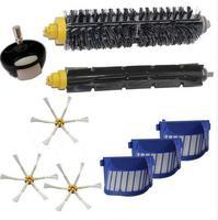 AeroVac Filter Side Brush Front Steering Wheel Kit For IRobot Roomba 600 Series 595 620 630