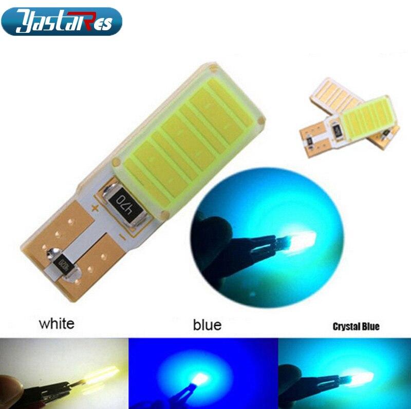 1pcs High Power Canbus No Error Led W5W T10 Led COB Car Bulb Lamp Interior Light Parking Light External Lights Univera Auto LED